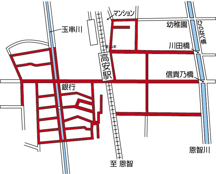 自転車放置禁止区域 | 八尾市